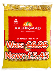 Aashirvaard Chakki Atta: Reduced!!