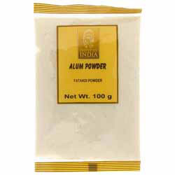 Alum Powder (Fatakdi Powder) - Spices of India - 100g