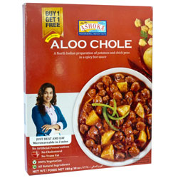 Aloo choley ashoka for Ashoka the great cuisine of india
