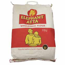 chapati flour wholemeal elephant 10kg. Black Bedroom Furniture Sets. Home Design Ideas