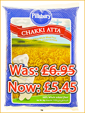 Pillsbury Chakki Atta: Reduced!!