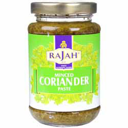 how to use coriander paste