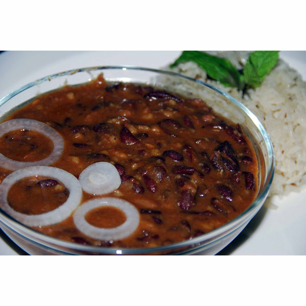 Red Kidney Bean Curry (Rajma Curry)