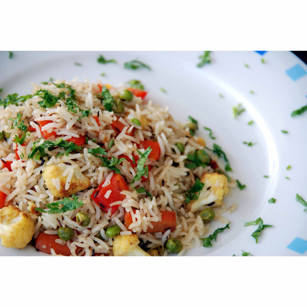 Vegetable Pulao is nothing but a mixture of spicy Vegetables in ...